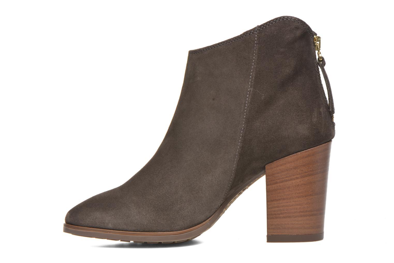 Bottines et boots Clarks Lora Lana Gris vue face