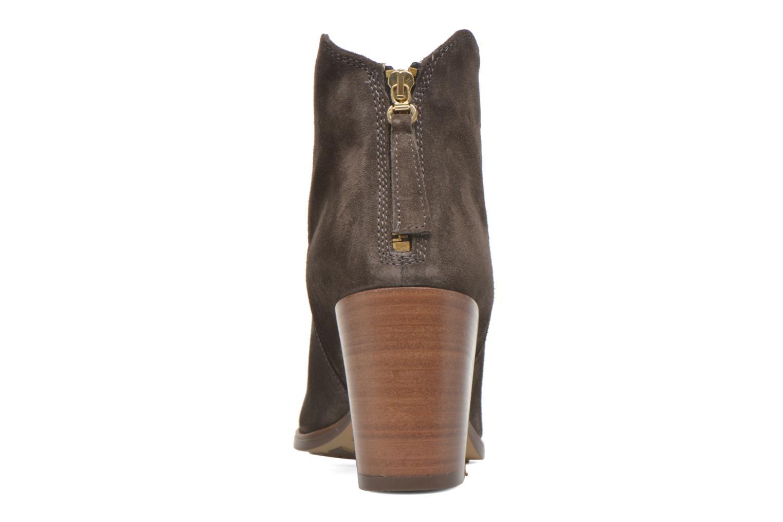 Bottines et boots Clarks Lora Lana Gris vue droite