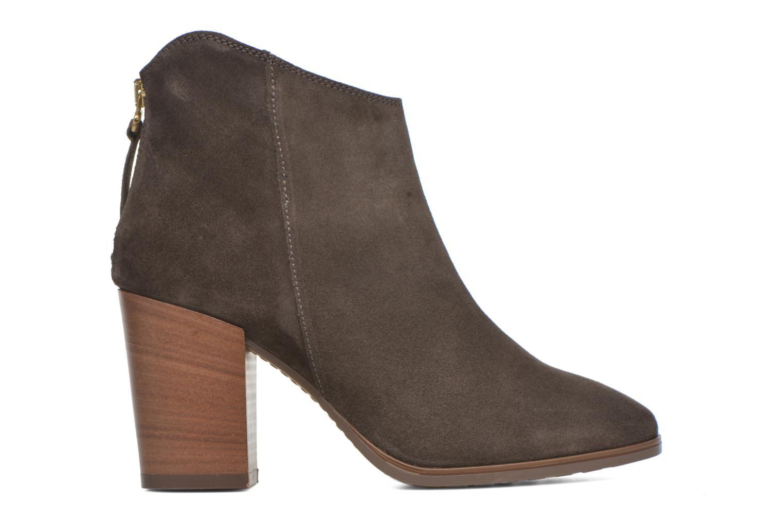 Bottines et boots Clarks Lora Lana Gris vue derrière