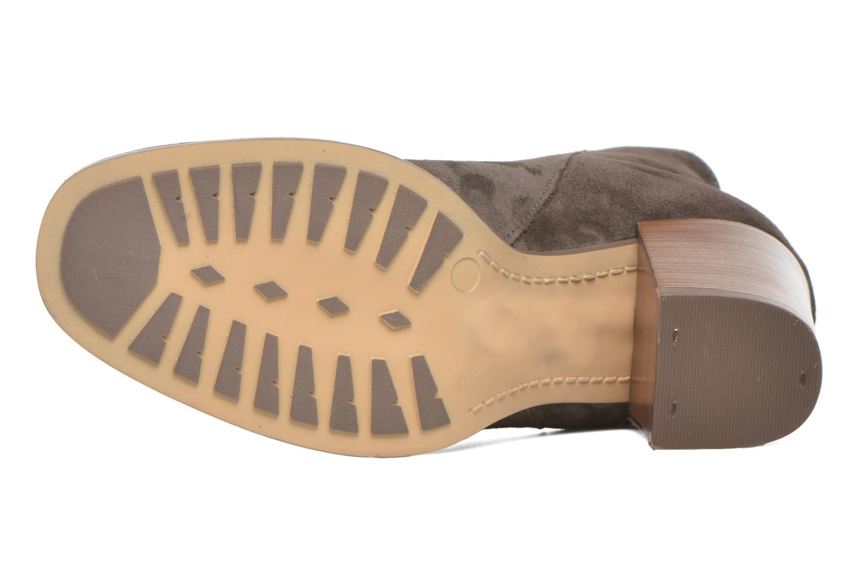 Bottines et boots Clarks Lora Lana Gris vue haut