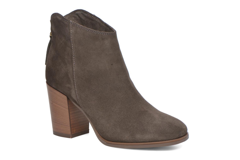 Bottines et boots Clarks Lora Lana Gris vue détail/paire