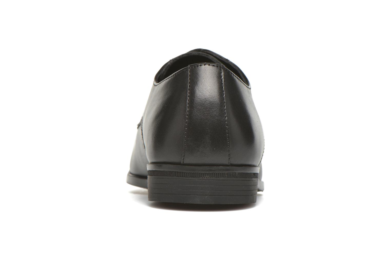 Zapatos con cordones San Marina Daninos Negro vista lateral derecha