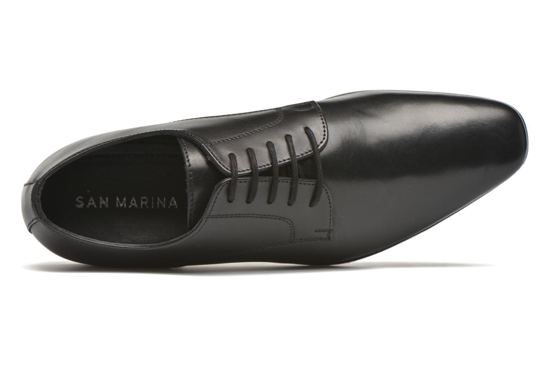 Zapatos con cordones San Marina Daninos Negro vista lateral izquierda