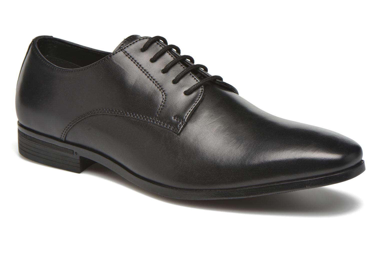 Zapatos con cordones San Marina Daninos Negro vista de detalle / par