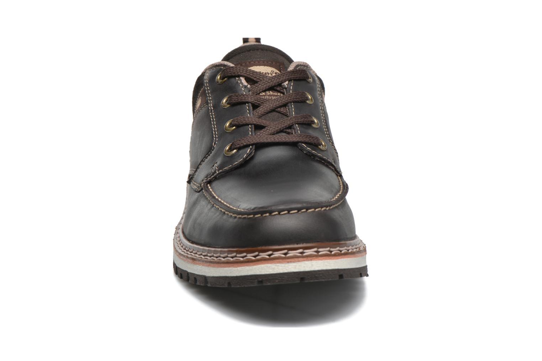 Chaussures à lacets Dockers Alexi Marron vue portées chaussures