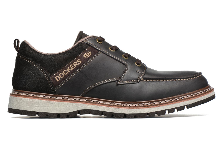 Chaussures à lacets Dockers Alexi Marron vue derrière