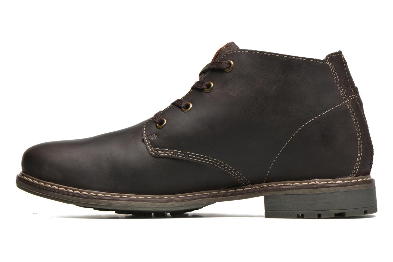 Chaussures à lacets Dockers Otmar Marron vue face