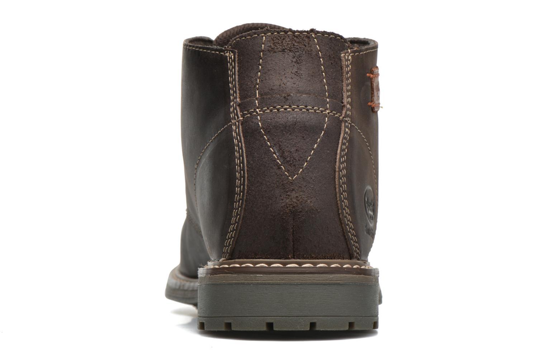 Chaussures à lacets Dockers Otmar Marron vue droite