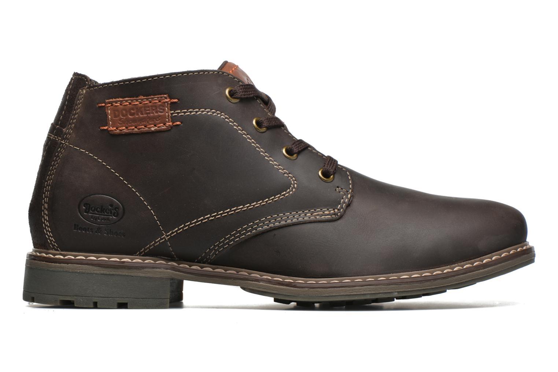 Chaussures à lacets Dockers Otmar Marron vue derrière