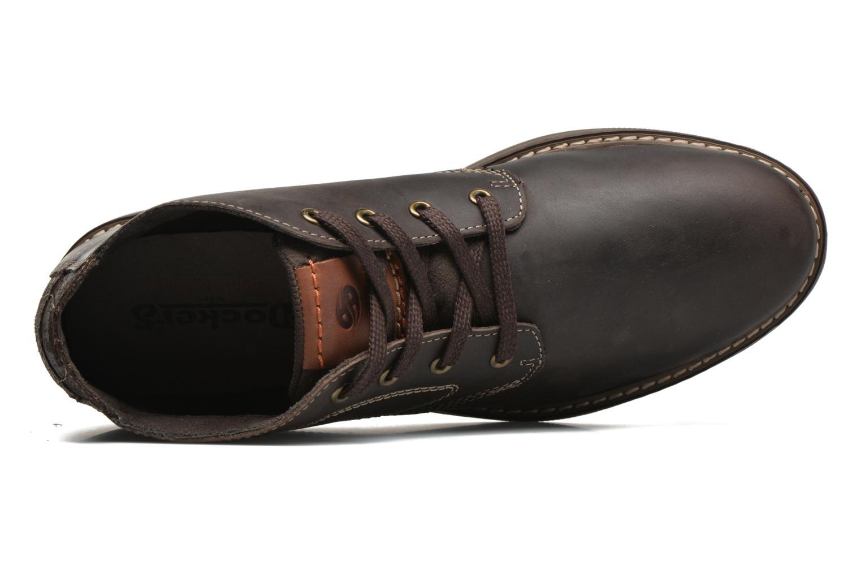 Chaussures à lacets Dockers Otmar Marron vue gauche