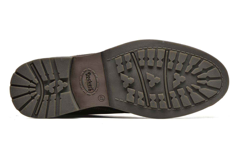 Chaussures à lacets Dockers Otmar Marron vue haut