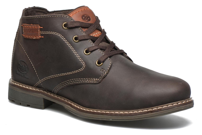 Chaussures à lacets Dockers Otmar Marron vue détail/paire
