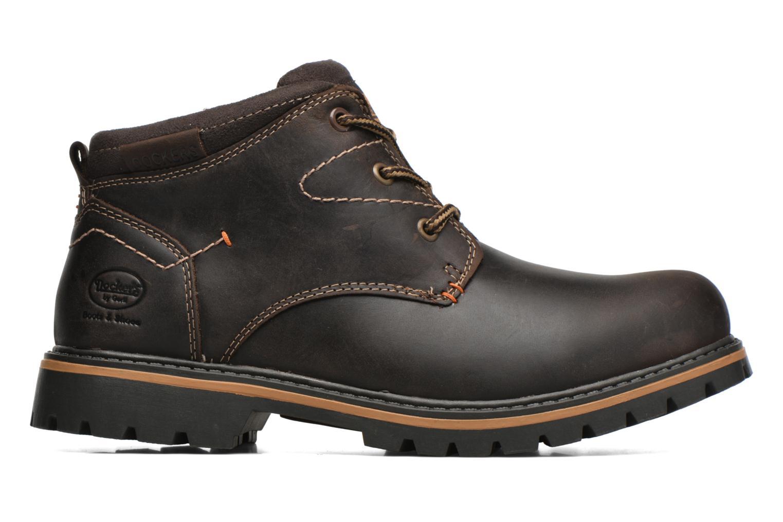 Chaussures à lacets Dockers Hanz Marron vue derrière
