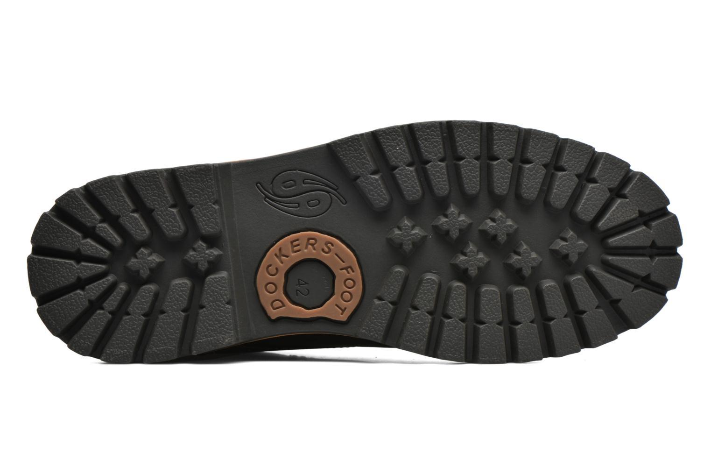 Chaussures à lacets Dockers Hanz Marron vue haut