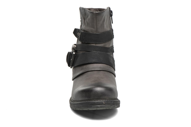 Bottines et boots Dockers Cloee Gris vue portées chaussures