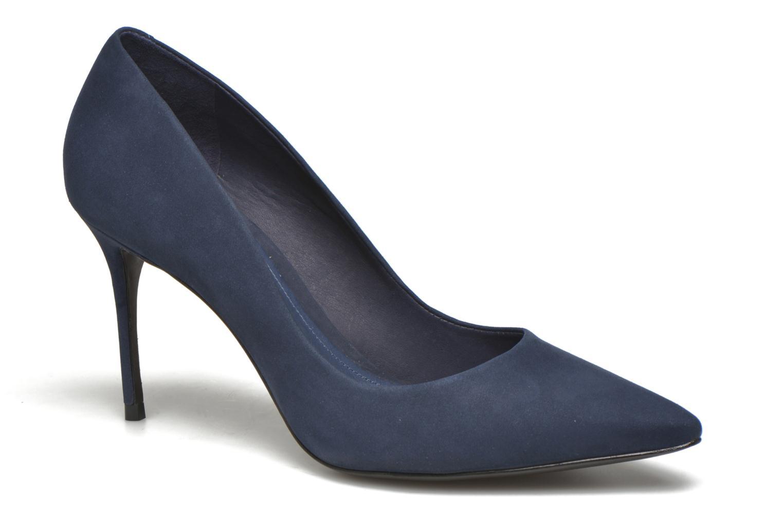 Escarpins COSMOPARIS Abelina/Nub Bleu vue détail/paire