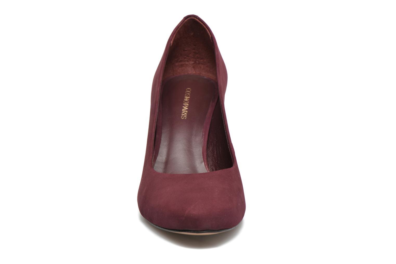 Escarpins COSMOPARIS Jenni/Nub Bordeaux vue portées chaussures