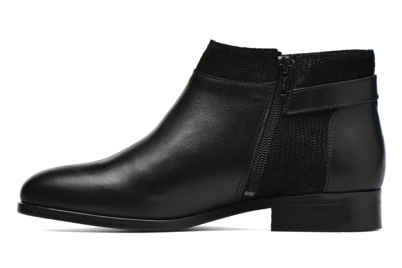 Bottines et boots COSMOPARIS Vady/Bi Noir vue face