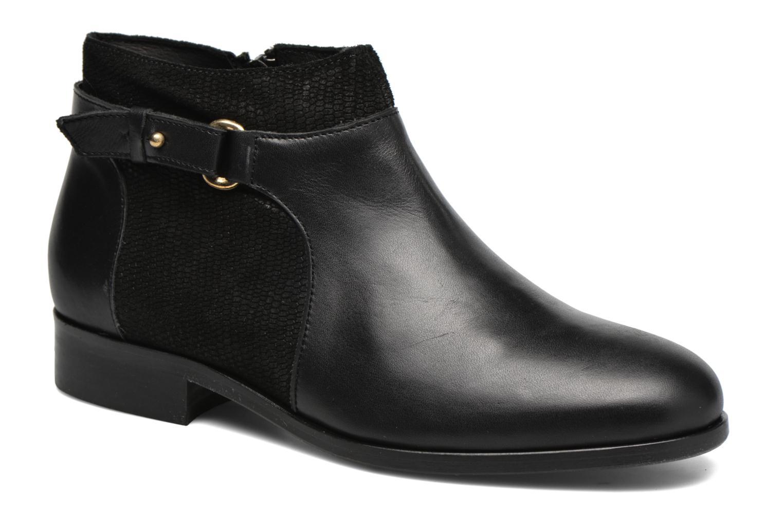 Bottines et boots COSMOPARIS Vady/Bi Noir vue détail/paire