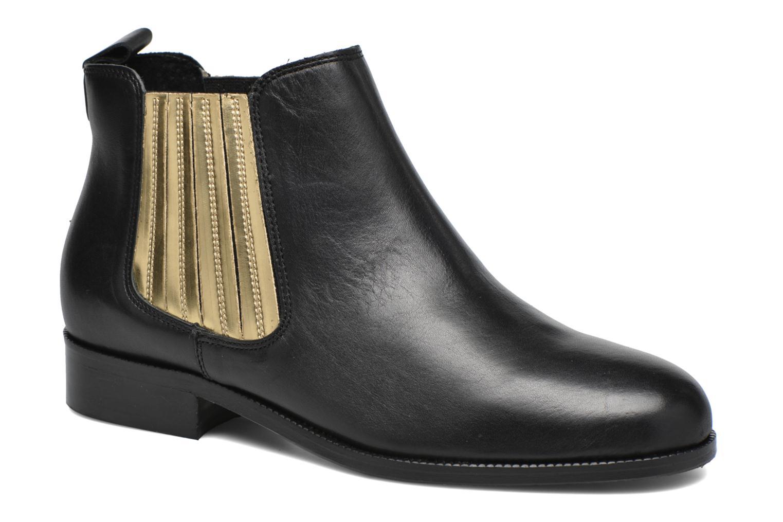 Bottines et boots COSMOPARIS Vissia Noir vue détail/paire