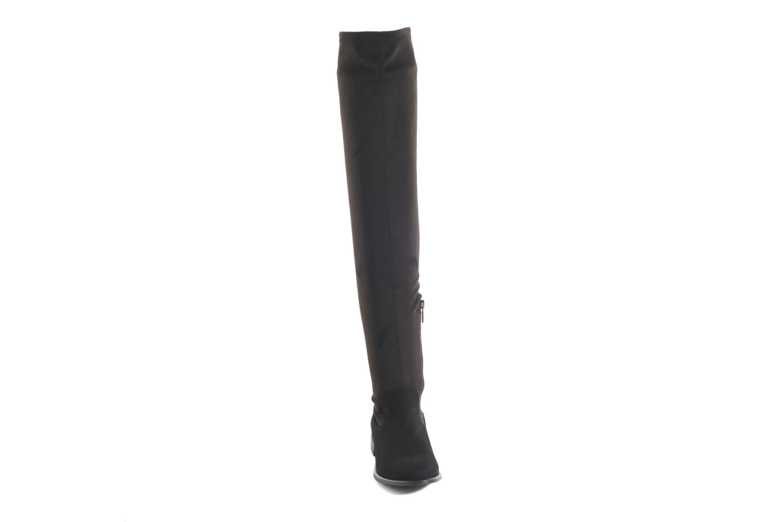 Bottes COSMOPARIS Mayani/Vel Noir vue portées chaussures