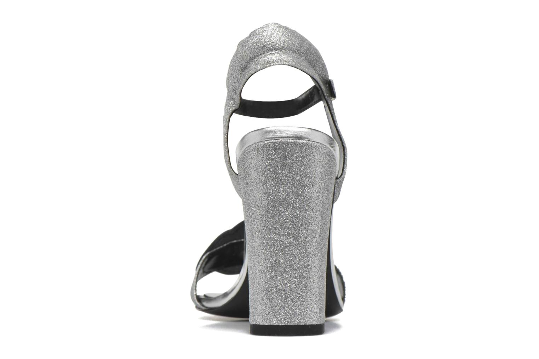 Sandales et nu-pieds COSMOPARIS Jokes/Diam Argent vue droite