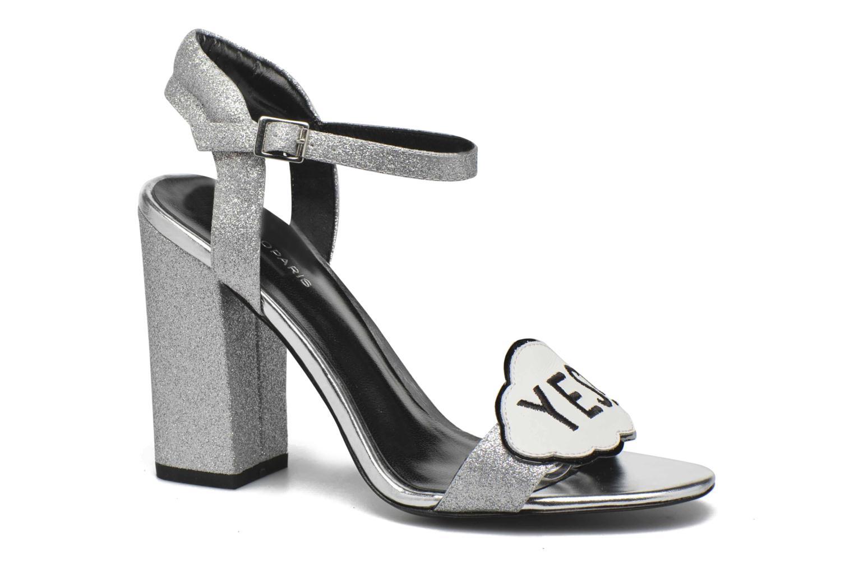 Sandales et nu-pieds COSMOPARIS Jokes/Diam Argent vue détail/paire