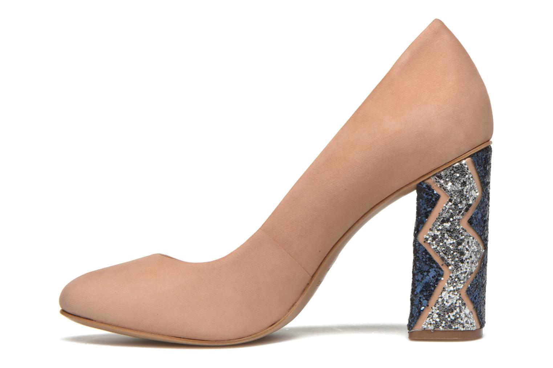 Zapatos de tacón COSMOPARIS Jeclara Rosa vista de frente