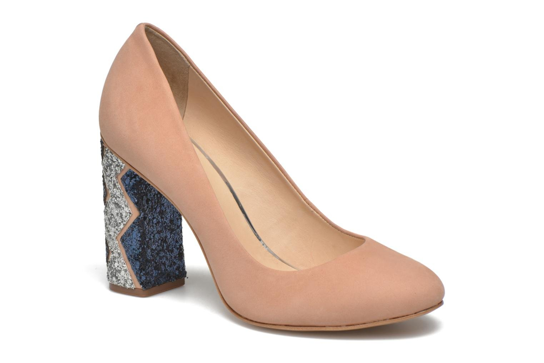 Zapatos de tacón COSMOPARIS Jeclara Rosa vista de detalle / par