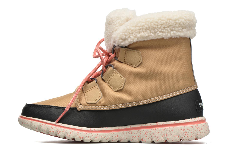 Bottines et boots Sorel Cozy Carnival Marron vue face