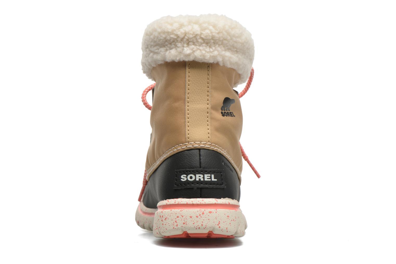 Bottines et boots Sorel Cozy Carnival Marron vue droite