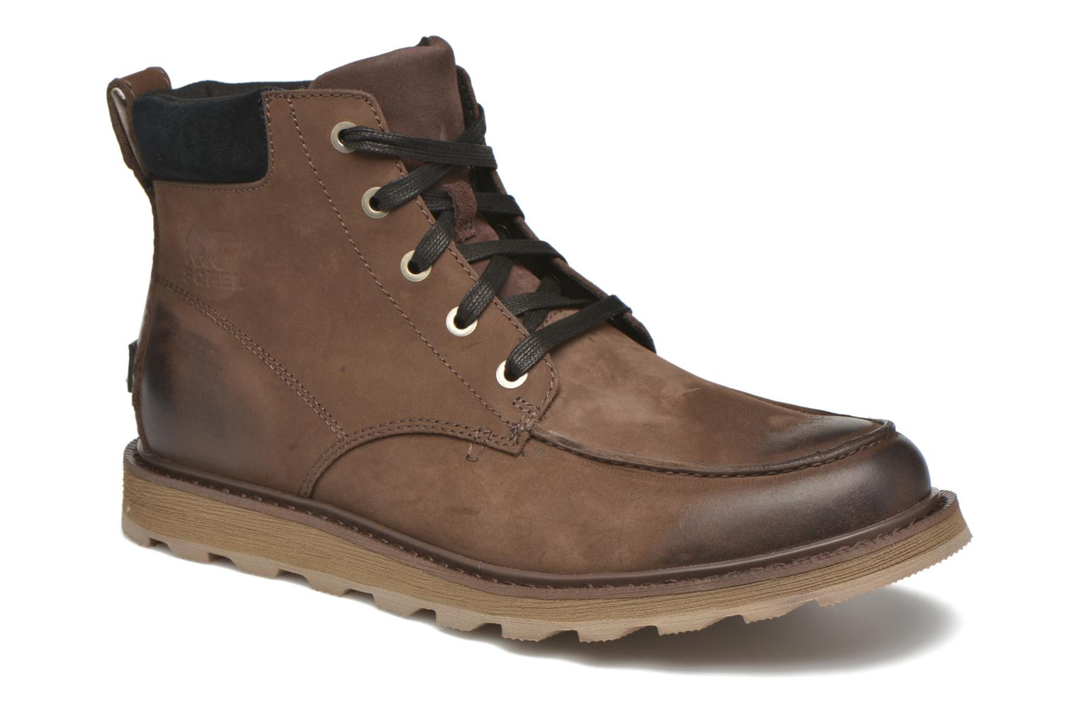 Bottines et boots Sorel Madson Moc Toe Marron vue détail/paire