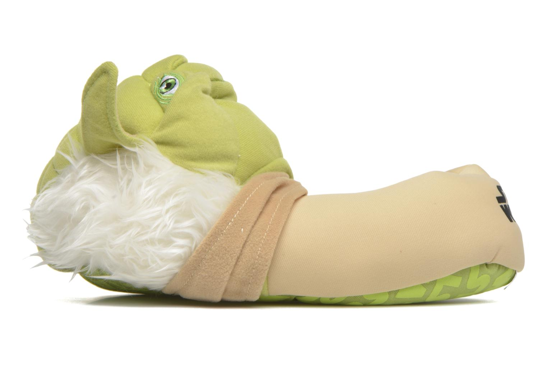 Chaussons Star Wars Yoda 3D Vert vue face