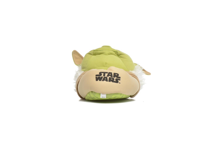 Chaussons Star Wars Yoda 3D Vert vue droite