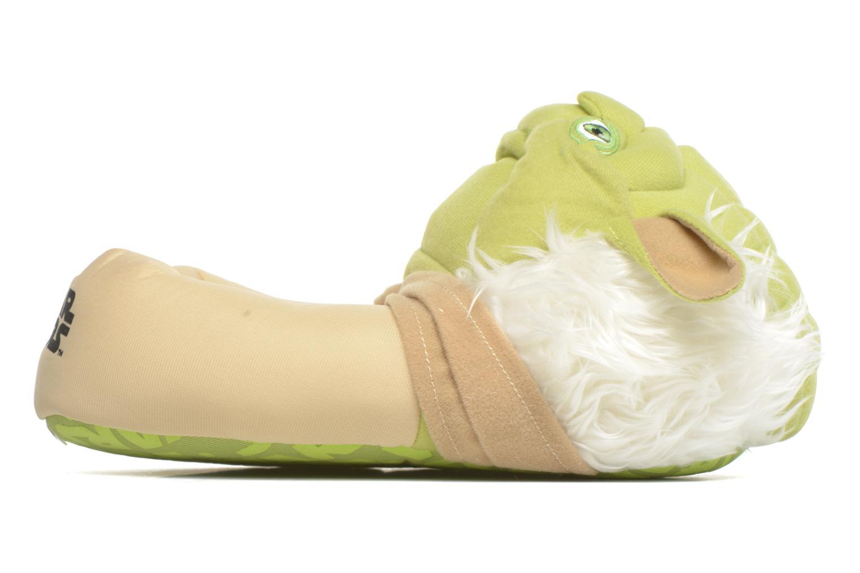 Chaussons Star Wars Yoda 3D Vert vue derrière