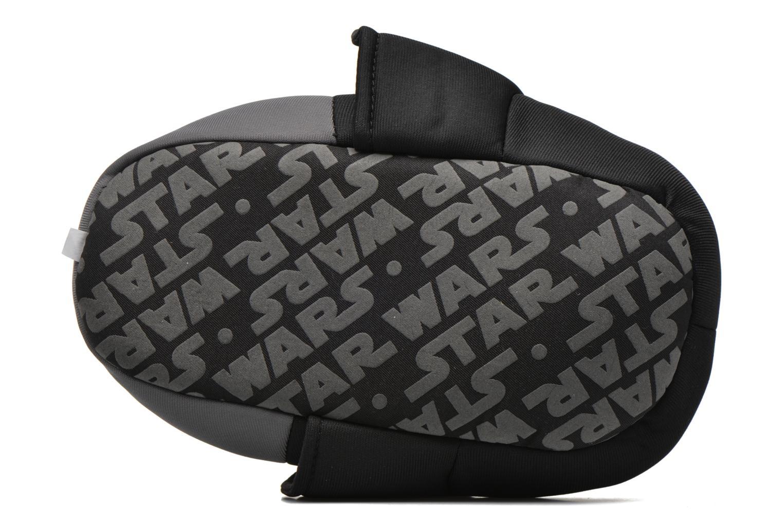 Chaussons Star Wars Rappel Noir vue haut