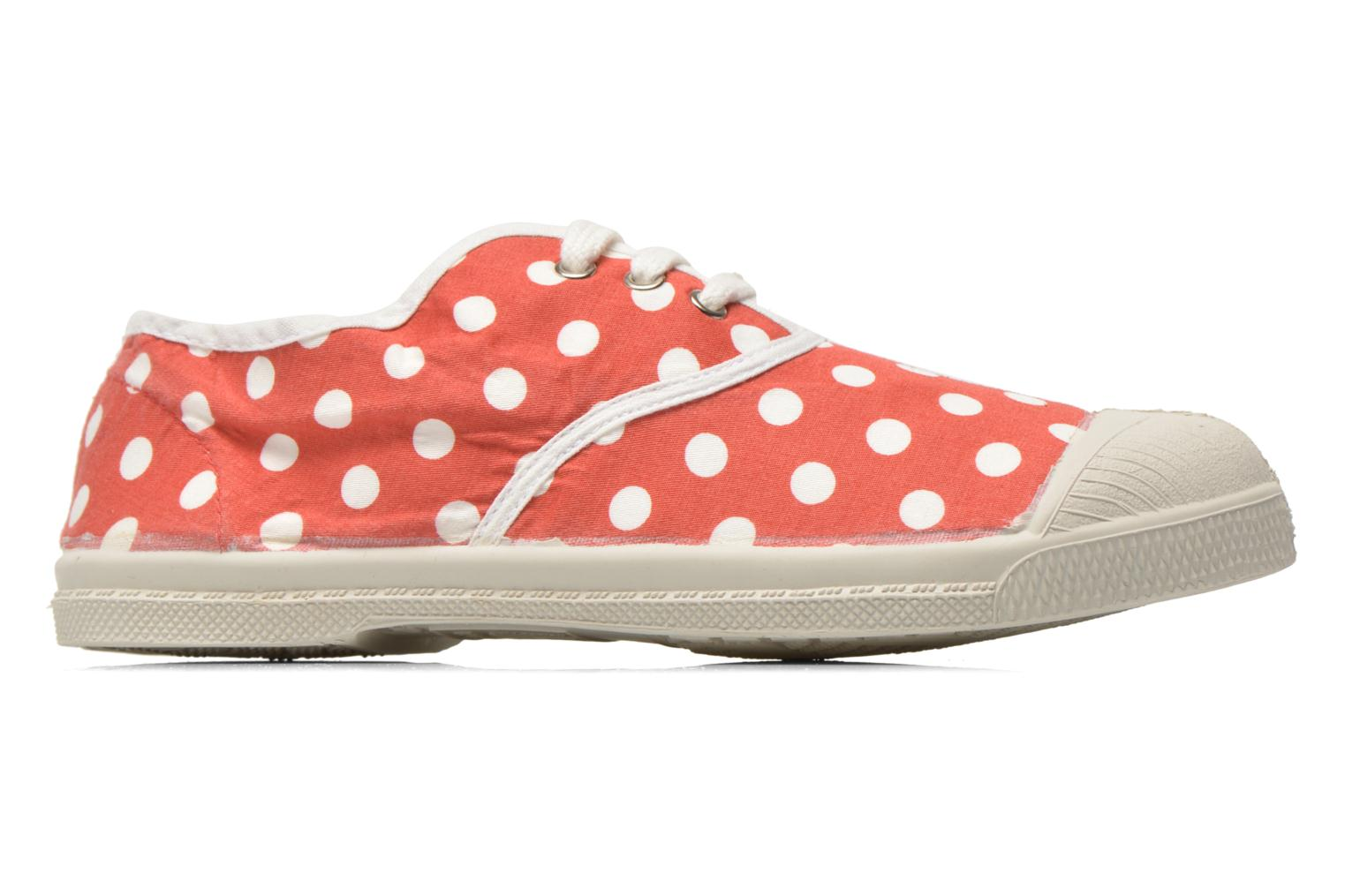 Rouge Bensimon Tennis Lacets Pois E (Rouge)