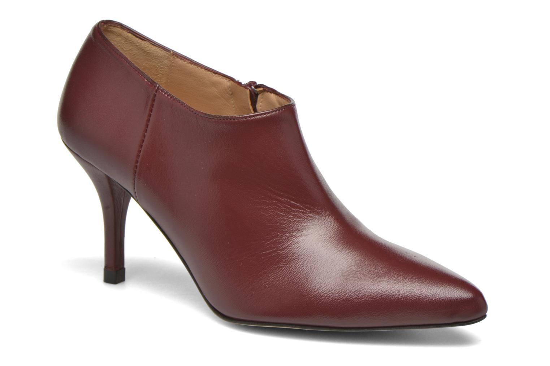 Ankelstøvler Georgia Rose Amalboot Bordeaux detaljeret billede af skoene