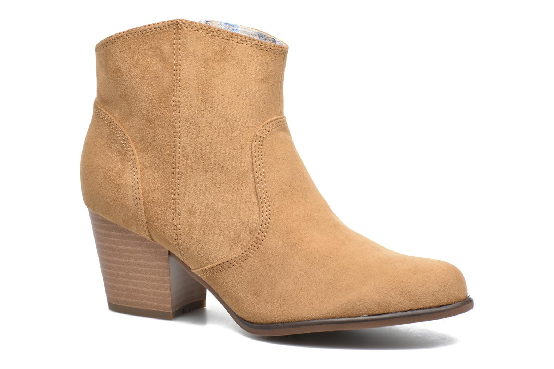 Boots en enkellaarsjes S.Oliver Badda Bruin detail