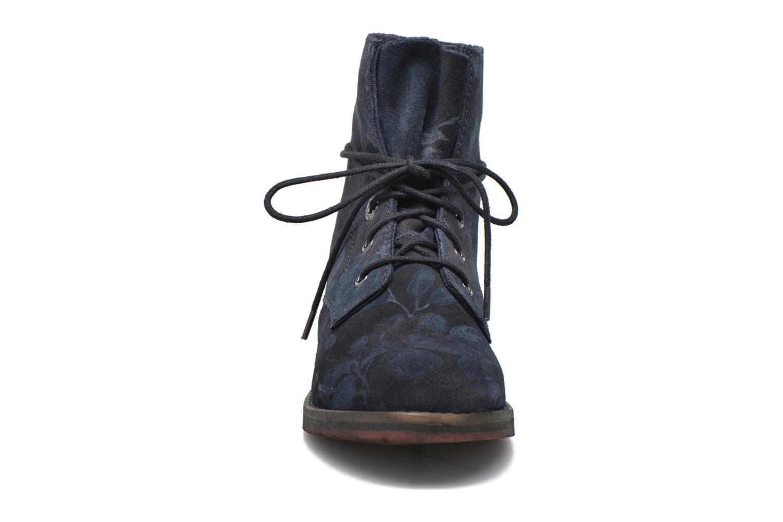 Bottines et boots S.Oliver Jabar Bleu vue portées chaussures