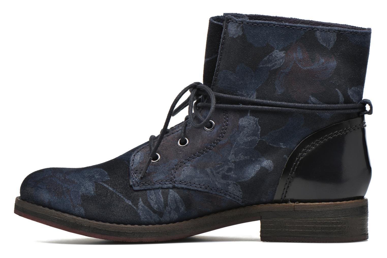 Bottines et boots S.Oliver Jabar Bleu vue face