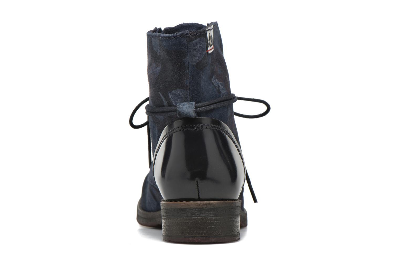 Bottines et boots S.Oliver Jabar Bleu vue droite