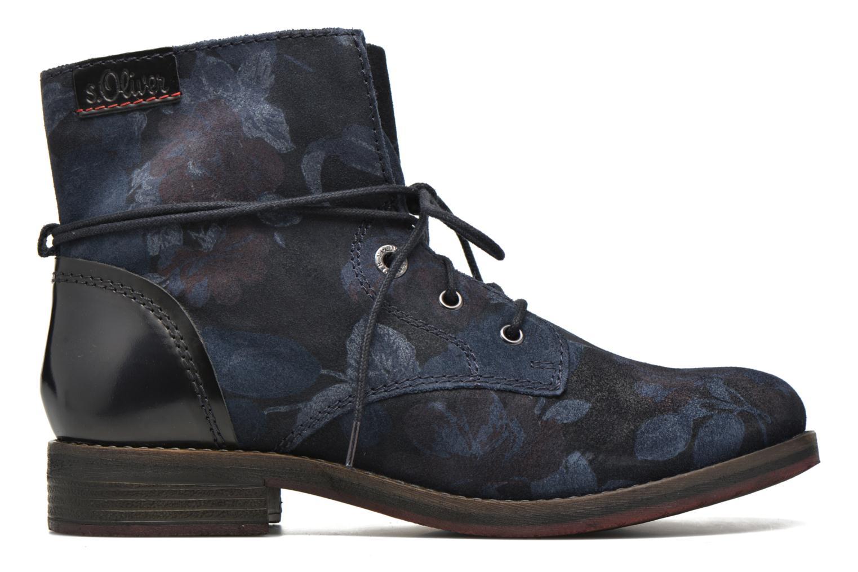 Bottines et boots S.Oliver Jabar Bleu vue derrière