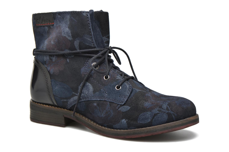 Bottines et boots S.Oliver Jabar Bleu vue détail/paire