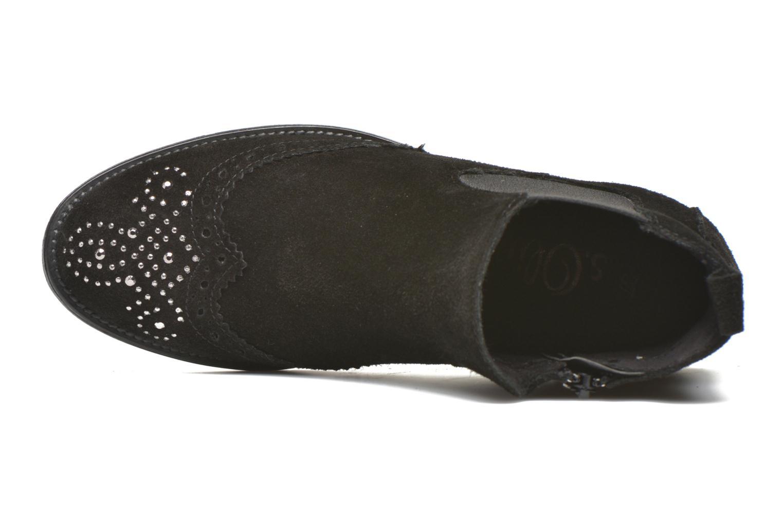 Bottines et boots S.Oliver Macaria Noir vue gauche