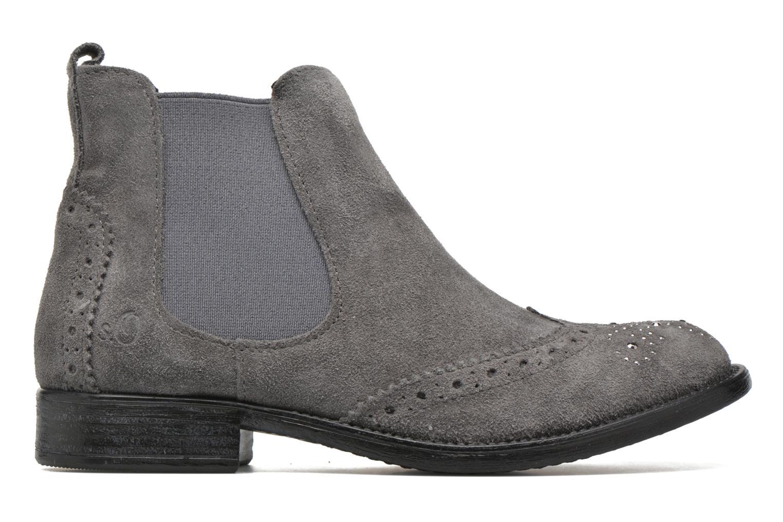 Boots en enkellaarsjes S.Oliver Macaria Grijs achterkant