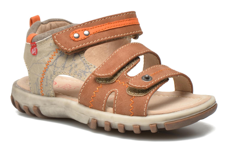 Sandales et nu-pieds NA! Avocat Marron vue détail/paire