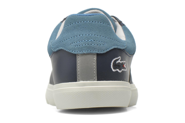 Baskets Lacoste Fairlead 316 2 Bleu vue droite