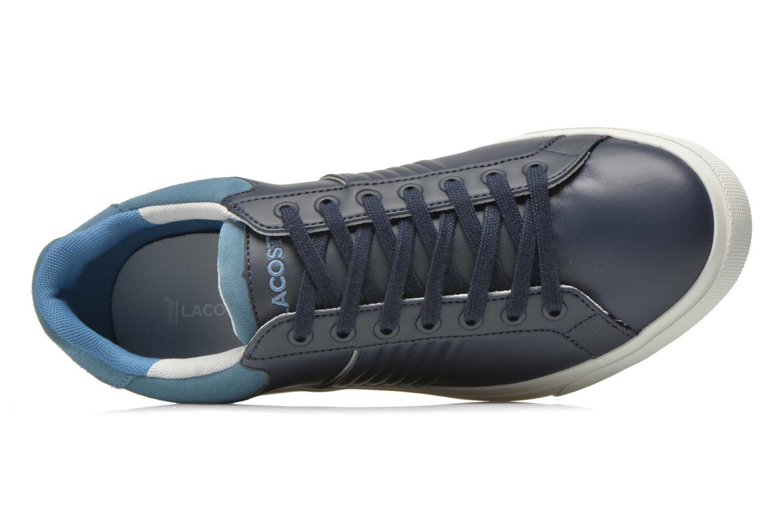 Sneaker Lacoste Fairlead 316 2 blau ansicht von links
