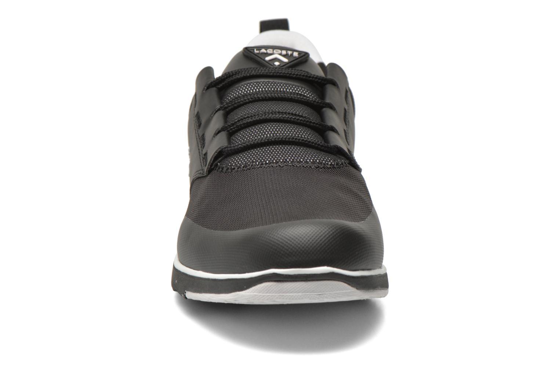 Sneaker Lacoste L.Ight 316 1 schwarz schuhe getragen